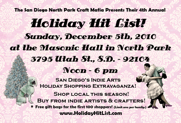 Holiday Hit List Flyer