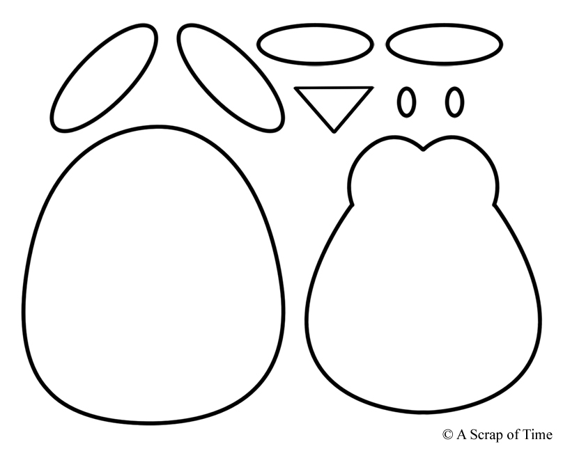 Terrible image intended for penguin template printable