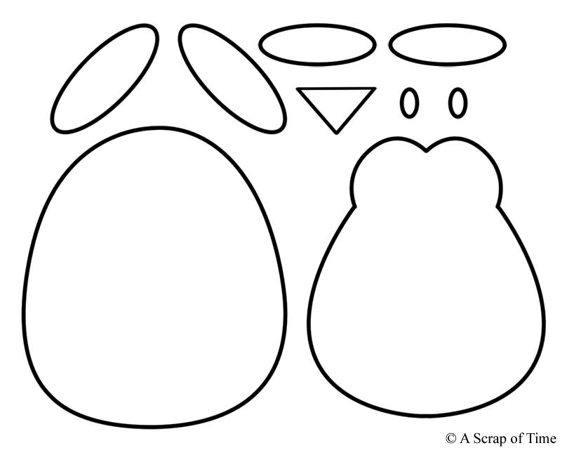 Bewitching image inside penguin pattern printable